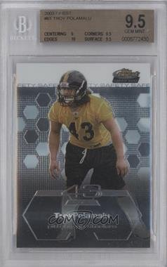 2003 Topps Finest #61 - Troy Polamalu [BGS 9.5]