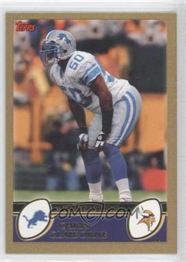 2003 Topps Gold #276 - Chris Claiborne /499