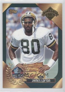 2003 Topps Hall of Fame #N/A - James Lofton