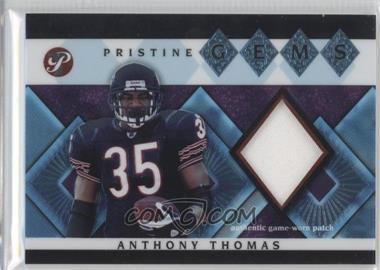 2003 Topps Pristine - Pristine Gems #PG-ATH - Anthony Thomas