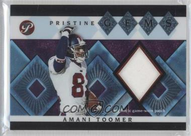 2003 Topps Pristine Pristine Gems #PG-AT - Amani Toomer