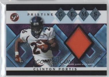 2003 Topps Pristine Pristine Gems #PG-CPO - Clinton Portis