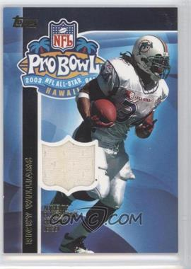 2003 Topps Pro Bowl Relics #AP-RW - Ricky Williams