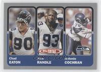 Chad Eaton, John Randle, Antonio Cochran