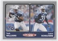Tank Williams, Lance Schulters