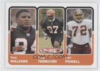 Tony Williams, John Thornton, Carl Powell
