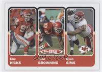 Eric Hicks, John Browning, Ryan Sims