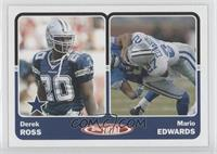 Derek Ross, Mario Edwards
