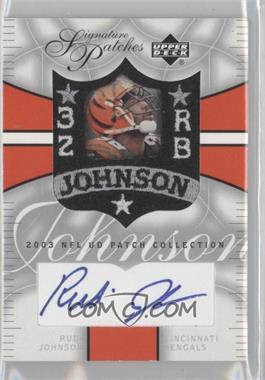 2003 UD Patch Collection [???] #SP-RJ - Rudi Johnson