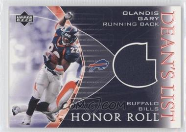 2003 Upper Deck Honor Roll [???] #DL-OG - Olandis Gary
