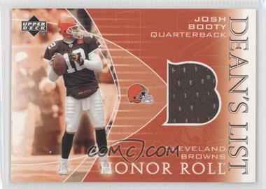 2003 Upper Deck Honor Roll Dean's List Jerseys #DL-JB - John Borton