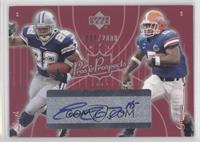 Ernest Grant, Emmitt Smith, Earnest Graham /2000