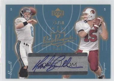 2003 Upper Deck Pros & Prospects Gold #138 - Mark Brunell, Dave Ragone /50