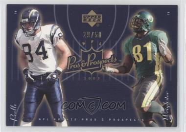2003 Upper Deck Pros & Prospects Gold #190 - George Wrighster /50
