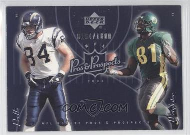 2003 Upper Deck Pros & Prospects #190 - George Wrighster /1800