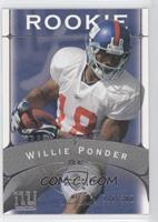 Willie Ponder /300