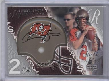 2003 Upper Deck Sweet Spot #226 - Chris Simms /250