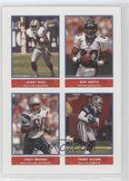 Jerry Rice, Troy Brown, Terry Glenn
