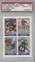 Steven Jackson, Tatum Bell, Chris Perry, Kevin Jones [PSA 10]