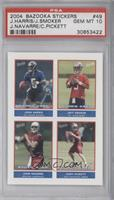 Josh Harris, Jeff Smoker, John Navarre, Cody Pickett [PSA 10]