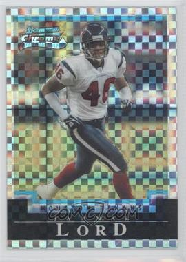 2004 Bowman Chrome X-Fractor #148 - Jammal Lord /250