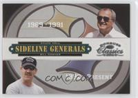 Bill Cowher, Chuck Noll /2000
