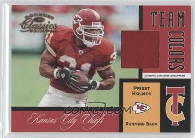 2004 Donruss Classics Team Colors Prime #TC-21 - Priest Holmes /25
