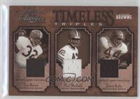 Jim Brown, Paul Warfield, Leroy Kelly /100