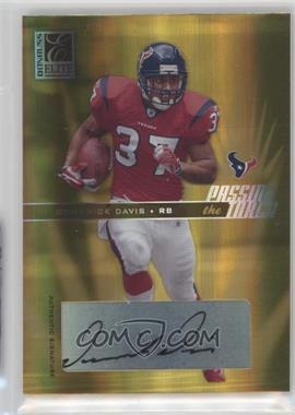 2004 Donruss Elite - Passing the Torch - Autographs #PT-2 - Domanick Davis /100