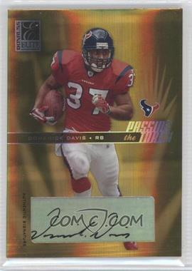 2004 Donruss Elite Passing the Torch Autographs #PT-2 - Domanick Davis /100