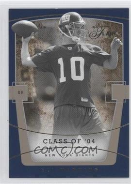 2004 Flair Collection Row 1 #61 - Eli Manning /100