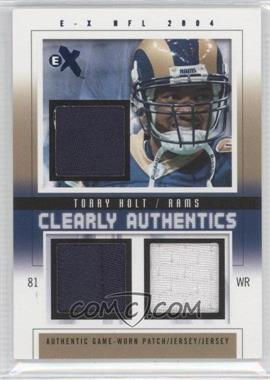 2004 Fleer E-X - [???] #CA-TH - Torry Holt /8