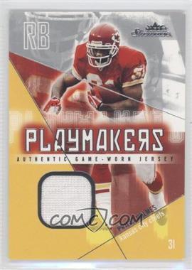 2004 Fleer Showcase - Playmakers - Jersey [Memorabilia] #PM-PH - Priest Holmes /300
