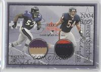 Ray Lewis, Brian Urlacher, Zach Thomas /31
