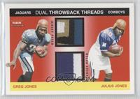Greg Jones, Julius Jones /75