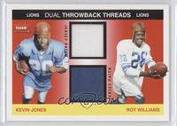 Kevin Jones, Roy Williams /75