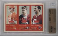 Luke McCown, Cody Pickett, Matt Schaub [BGS 9.5]