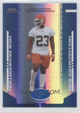 2004 Leaf Certified Materials Mirror Blue #151 - Adimchinobe Echemandu /50