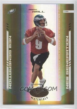 2004 Leaf Certified Materials Mirror Gold #153 - Andy Hall /25