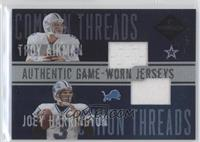Troy Aikman, Joey Harrington /50