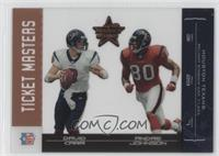 David Carr, Andre Johnson /1250