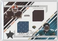 Dual Rookie Jersey - Greg Jones, Kellen Winslow Jr. /500