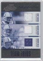 Edgerrin James, Marvin Harrison, Peyton Manning /100