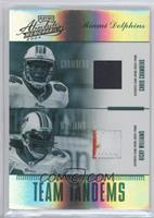 Chris Chambers, Ricky Williams /25