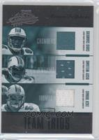 Chris Chambers, Ricky Williams, Zach Thomas /100