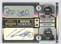 Steven Jackson, Kevin Jones, Reggie Williams, Chris Perry /50