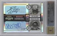 Reggie Williams, Roy Williams /100 [BGS 9]