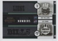 Lee Evans, Michael Jenkins, Michael Clayton, Roy Williams /500
