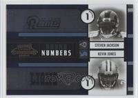 Kevin Jones, Steven Jackson /1500