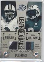 Jay Fiedler, Ricky Williams, Chris Chambers, Zach Thomas